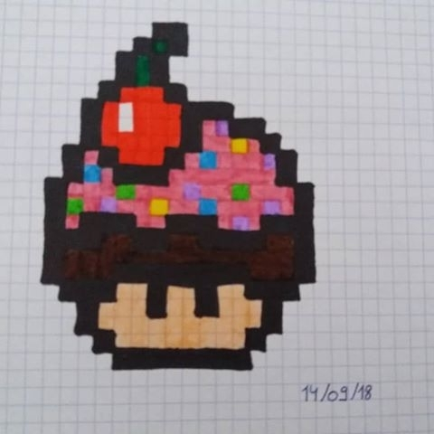dessin pixel video