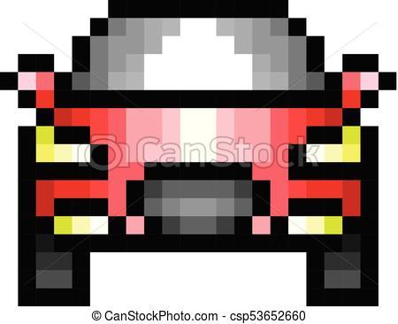 Dessin Pixel Art Voiture De Course