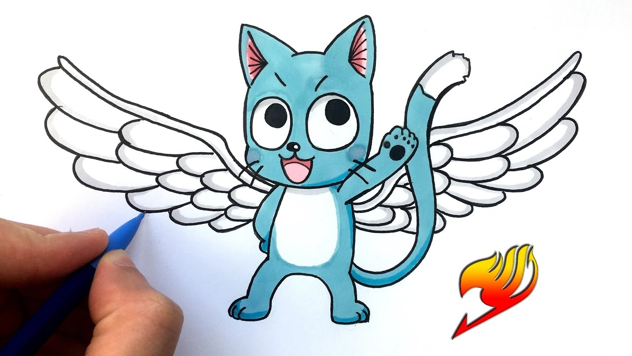 comment dessiner fairy tail - Les dessins et coloriage
