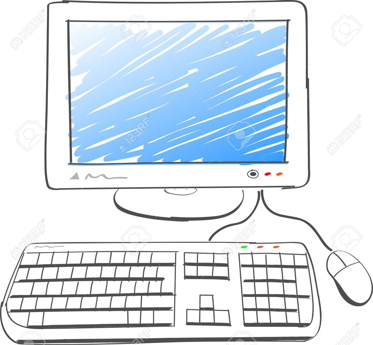 dessin ordinateur - Les dessins et coloriage