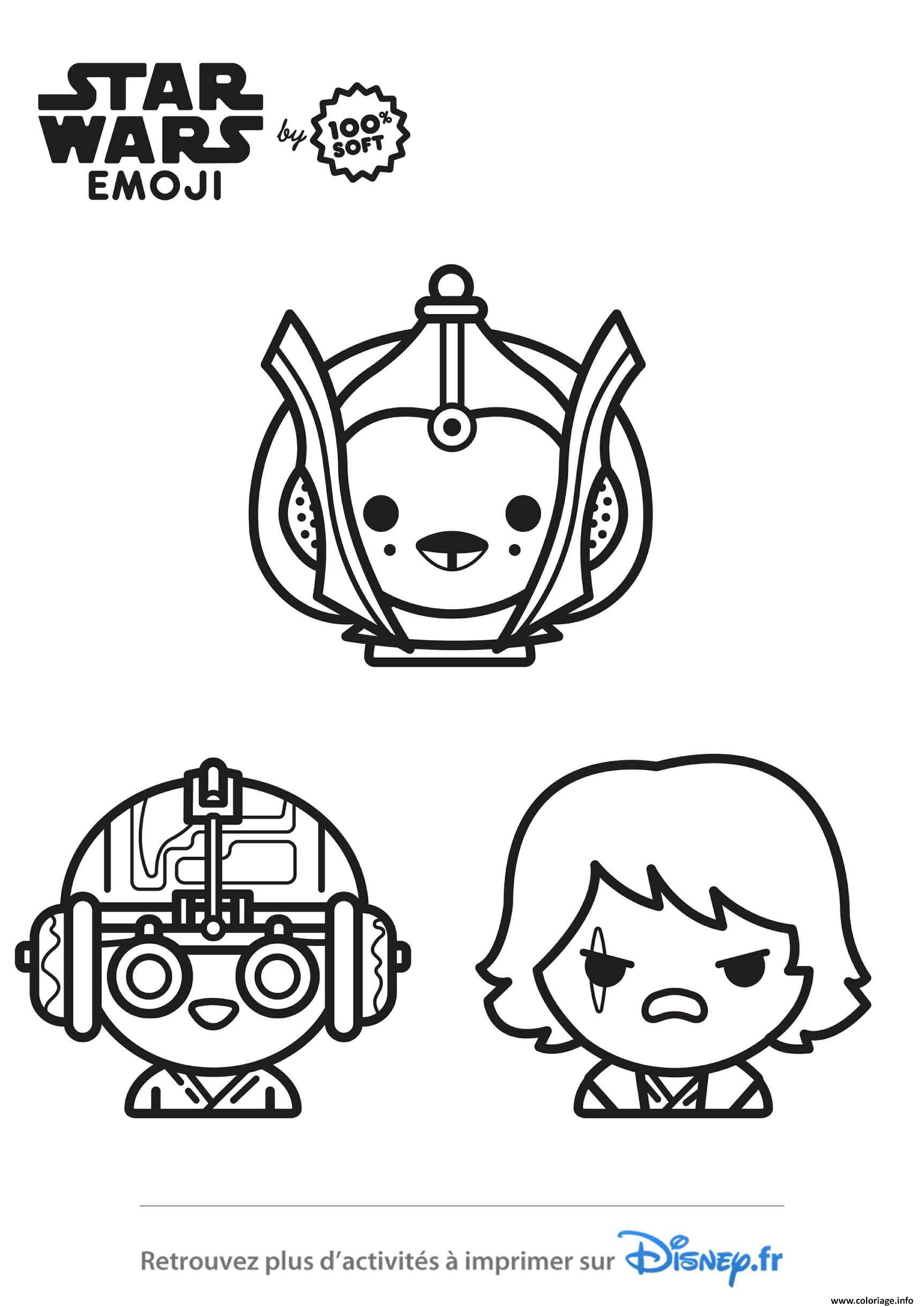 dessin star wars - Les dessins et coloriage