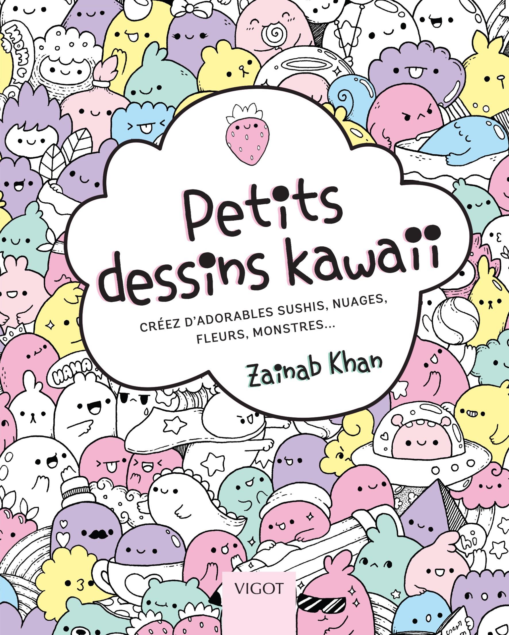 dessin kawaii - Les dessins et coloriage