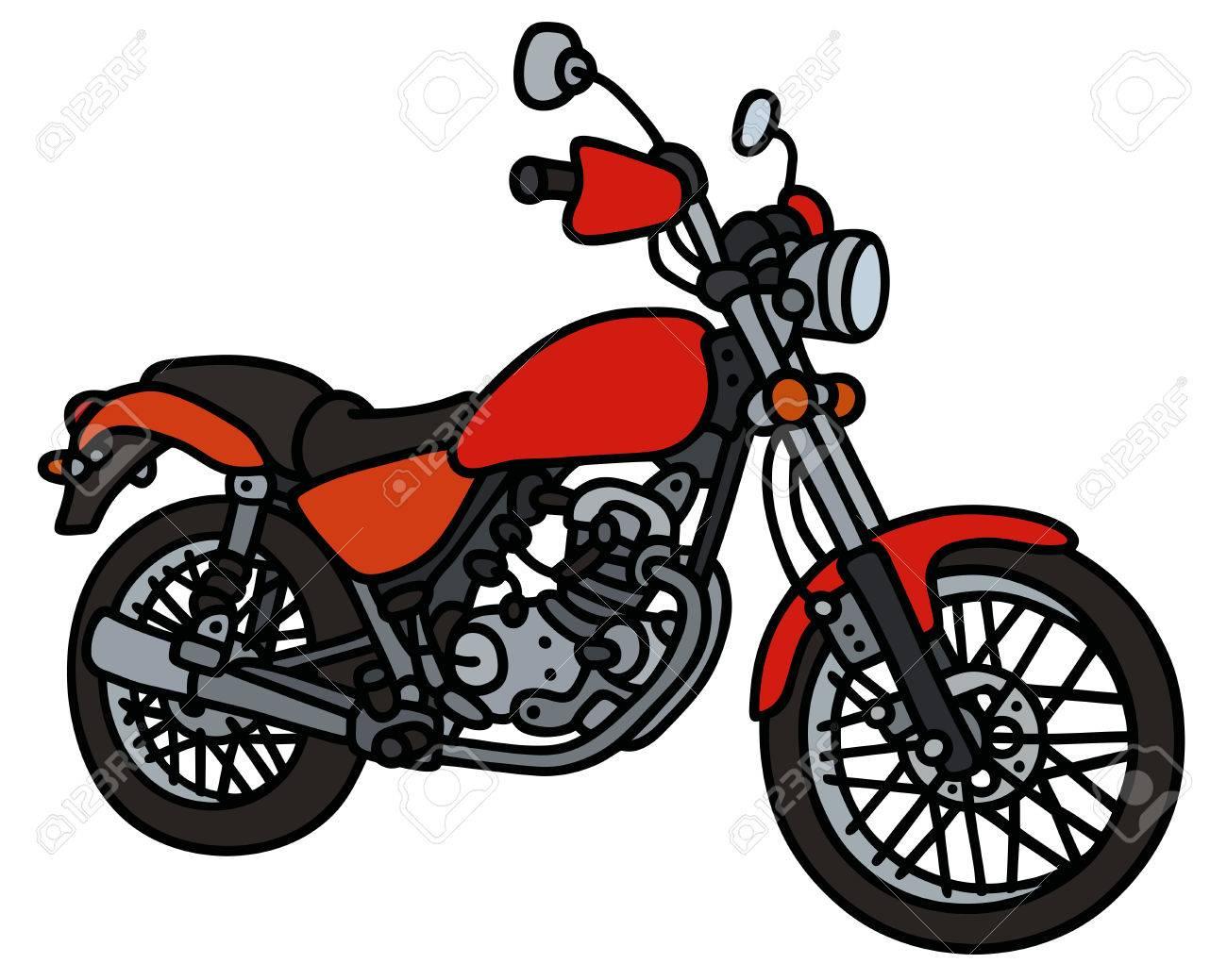 dessin moto - Les dessins et coloriage